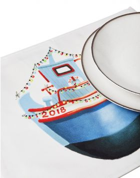 TRATA CHRISTMAS PLACEMAT