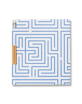 LABYRINTH NOTEBOOK PENCIL