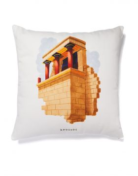 KNOSSOS TEMPLE CUSHION