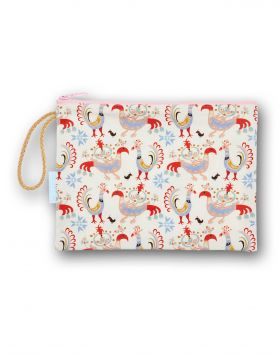 BIRDS MM COSMETIC BAG