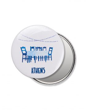 PLAKA ELEMENT POCKET MIRROR