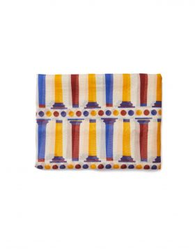 KNOSSOS STILES SILK COTTON SCARF