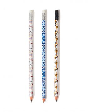 EIDOLIA MM/BIRDS MM/IXTHYS MM PENCIL SET OF 3