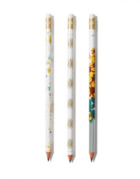 ASTERI VERGINAS/ HLIOTROPIA/GRAPES PENCIL SET OF 3