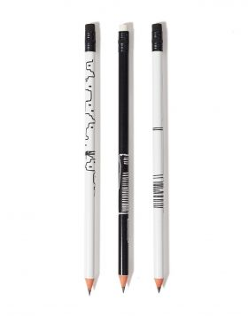 SKYLINE MYKONOS/ACROPOLIS/STILES PENCIL SET OF 3