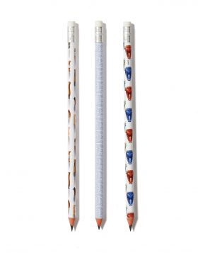 MAXAIRIA/MINOTAUR/LABYRINTH PENCIL SET OF 3