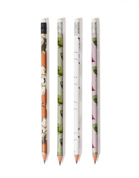 GAIDOURAKIA/PROVATAKI/KOYKOYVAGIA PENCIL SET OF 4
