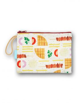 SOUVLAKI COSMETIC BAG