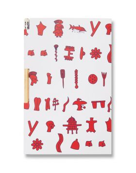 PHAISTOS NOTEBOOK PENCIL