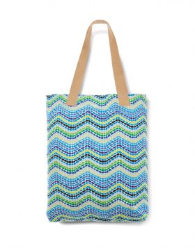 VOTSALOTO WAVE TOTE BAG